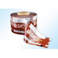 Wholesale Golden Printed Tea Sachet Packaging Film Roll PET / PE Material from china suppliers