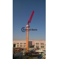 Buy cheap Full hydraulic 29m 33m self-climbing column concrete placing boom without counter weight on hot selling from wholesalers