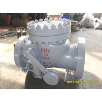 Buy cheap SS304 Counter Weight Check Valve TRIM API 6D BS 1868 WC6 BODY 900 LB Pressure from wholesalers