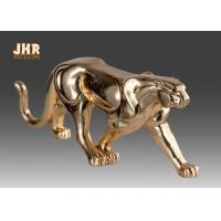 Buy cheap Gold Foil Polyresin Animal Figurines Indoor Decor from wholesalers