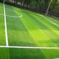 Buy cheap Natural Looking Realistic Artificial Grass Soccer Field Custom Specification from wholesalers