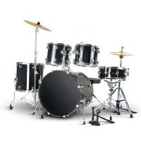Wholesale Beginner Practise PVC series 5 drum set/drum kit OEM various color-A525Q-702 from china suppliers