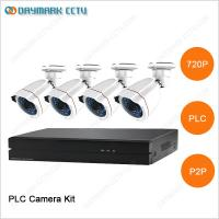 Buy cheap New tech network 4CH 720P Plug and Play PLC Security Camera System from wholesalers