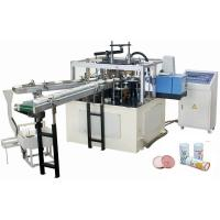 Buy cheap Professional Disposable Paper Lid Making Machine Eco Friendly 45-50 Pcs/Min product
