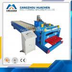 Buy cheap PPGI Colored Glazed Tile Roll Forming Machine 380V 50HZ 3phase , 3000kg-20000kg from wholesalers