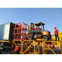 Buy cheap Cable Building Material Elevator SS100/100 2t Load Two Cage 800MM Mast from wholesalers