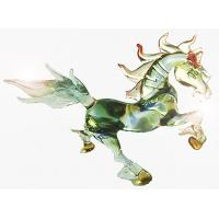 Buy cheap Mixed Color Glass Animals Figurine Horse Statue For Gift , Handmade from wholesalers