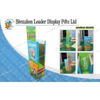 Art Paper Cardboard Display Stands , Green Point Of Purchase Manufactures