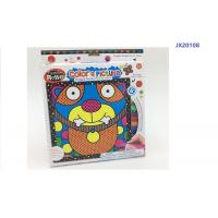Wholesale 9 Inch Kitty Cat Kids Drawing Board Toys With 6 Washable Color Markers from china suppliers