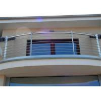 Buy cheap Customized Made Dressed Timber and Stainless Steel Rod Balustrade for Balcony from wholesalers