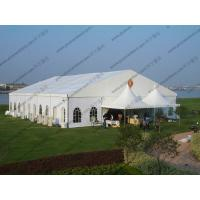 Buy cheap 20 x 25m White Wedding Event Tents , Outdoor Luxury Tent Wedding Ceremony from wholesalers