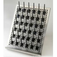 Buy cheap Corrosion Resistant Metal Tube Drying Rack Lab Dripping Rack With Locking Function from wholesalers
