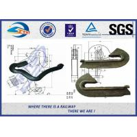 Buy cheap Rail Fixation Rail anchor fasteners 60Si2Mn 65 Mn Material Anticreeper from wholesalers
