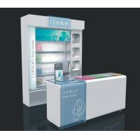 Buy cheap Floor Standing Cosmetic Display Stand Kiosk , Makeup Display Unit Multifunctional from wholesalers