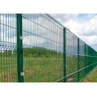 Buy cheap Carton Steel Metal Border Fence PVC Coated Garden Security Fencing from wholesalers