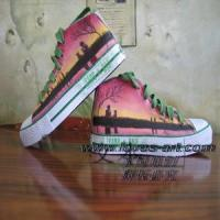 hand painted shoes from www loves-art com Manufactures