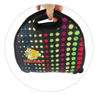 Wholesale Reusable 4mm Neoprene Lunch Tote , Sandwich Bag With A Long Zipper from china suppliers