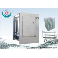 Buy cheap Stainless Steel 304 Pass Through Autoclave With HMI Control System from wholesalers