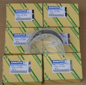 Wholesale Japan,KOMATSU Diesel engine parts,connecting rod bearing for komatsu 6162-33-3041,6162333041 from china suppliers