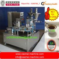Buy cheap Pneumatic Rotary weight filling machinery coffee machine from wholesalers