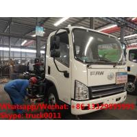 Buy cheap factory sale best price customized FAW 4*2 RHD diesel road washing and sweeping vehicle, road cleaning truck for sale from wholesalers