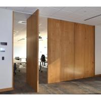 Buy cheap Interior Removable Sliding Folding Partition Acoustic Room Dividers Easy To Operate from wholesalers