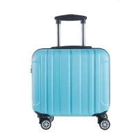 Wholesale Airline Lightweight Unisex Blue Carry On Luggage Suitcase Sets from china suppliers