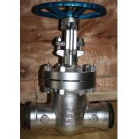 Buy cheap API carbon steel BW industrial gate valve butt welded ends ANSI Class 300lbs-1500lbs from wholesalers
