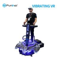 Buy cheap 220V VR Vibration Platform 9D Virtual Reality Game Flight Simulator For Scenic from wholesalers