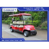 Buy cheap 6 Seater Custom Street Legal Electric Golf Carts With Dry Battery For Multi 8v*6pcs from wholesalers
