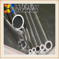 Buy cheap High quality and pure  ASTM B338 ti 6al 4v seamless Gr5 Titanium pipes by china suppliers from wholesalers