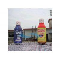 Wholesale Giant Advertising Inflatables 210D Encryption Nylon Inflatable Beer Bottle Display from china suppliers