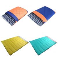 Buy cheap Detachable and Waterproof Envelope Couple Sleeping Bag With Compression Sack from wholesalers