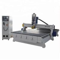 Buy cheap HSD 7KW Spindle Woodworking CNC Machine 3d CNC Router For MDF , PVC from wholesalers