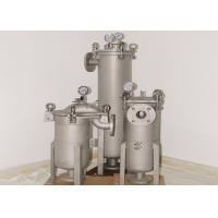 Buy cheap Quick Open Type Industrial Bag Filter Housing 10~1000 Micron Filtration Degree from wholesalers