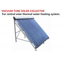 Buy cheap Stable Evacuated Tube Solar Collector , Evacuated Heat Pipe Solar Collector product