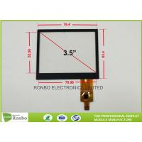 Buy cheap 3.5 Inch Projected Capacitive Touch Screen , 320x240 Multi Point Touch Screen from wholesalers
