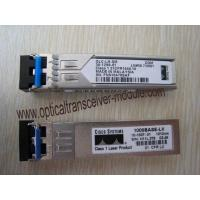 Buy cheap GLC-LH-SMD Switch Interface SFP Optical Transceiver , SFP Fiber Optic Transceiver from wholesalers
