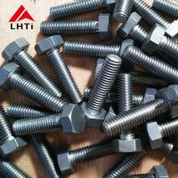 Wholesale Gr2 Hex Angle Titanium Bolts And Nuts 7/16''-28 Length 1'' ANSI B18.2.1 from china suppliers
