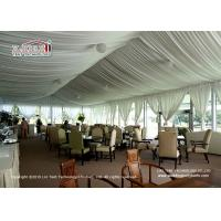 Buy cheap Exquisite Arcum Outdoor  Event Tents 10x20m With Glass Wall For Golf from wholesalers