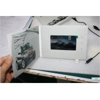 Buy cheap Popular Car Advertising Video Brochure with Navigation buttons from wholesalers
