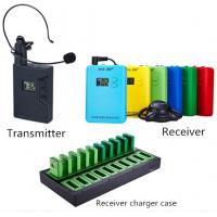 Buy cheap Tour guide wireless audio system for travel agency and attractions from wholesalers