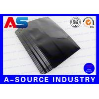 Buy cheap Tablet Aluminum Stand Up Pouch Plastic Blister Packaging 9 * 6 cm Black Color from wholesalers