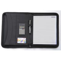 Buy cheap zippered diary cover/ file folder from wholesalers
