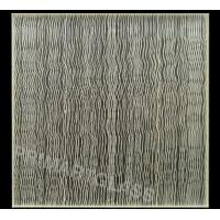 Buy cheap Wavy Fabric Laminated Glass For Curtain Walls , Toughened Glass from wholesalers