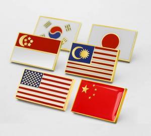 Wholesale IMKGIFT Die Struck Soft enaeml lapel pin , army lapel pin , flag lapel pins ,flag coins from china suppliers