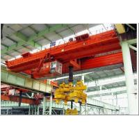 Buy cheap High quality 250 ton double girder traveling bridge crane from wholesalers