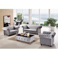 Buy cheap Modern Home Furniture UK Classical Velvet Fabric Chesterfield Tufted Sofa from wholesalers