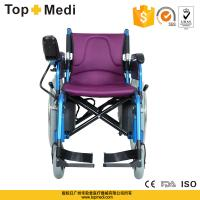 Buy cheap Rehabilitation Therapy Steel Frame Cheap Folding Handicapped Electri Wheelchair for Elder from wholesalers