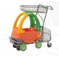 Buy cheap Metal 80L Kids Shopping Carts / Childrens Shopping Trolley Funny Toy Car from wholesalers